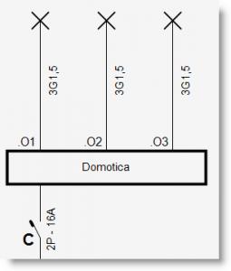 Trikker - Nummeren domoticamodule op eendraadschema - 3