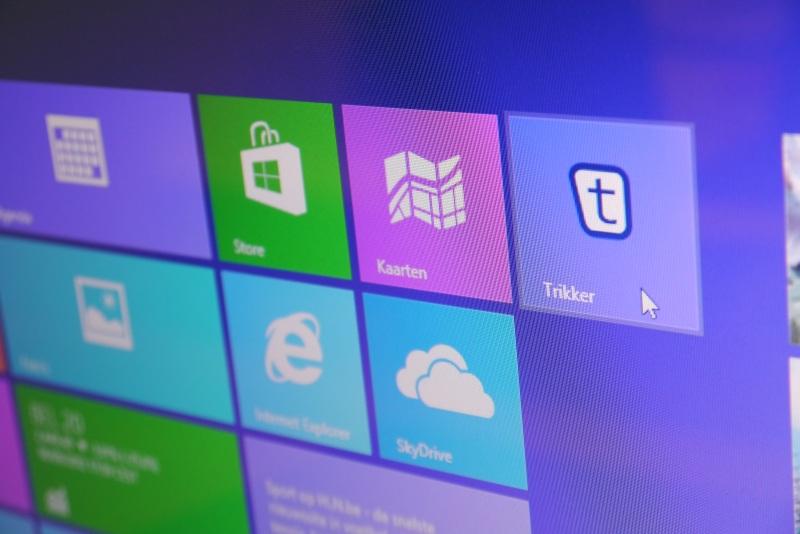 Screenshot Trikker op Windows 8